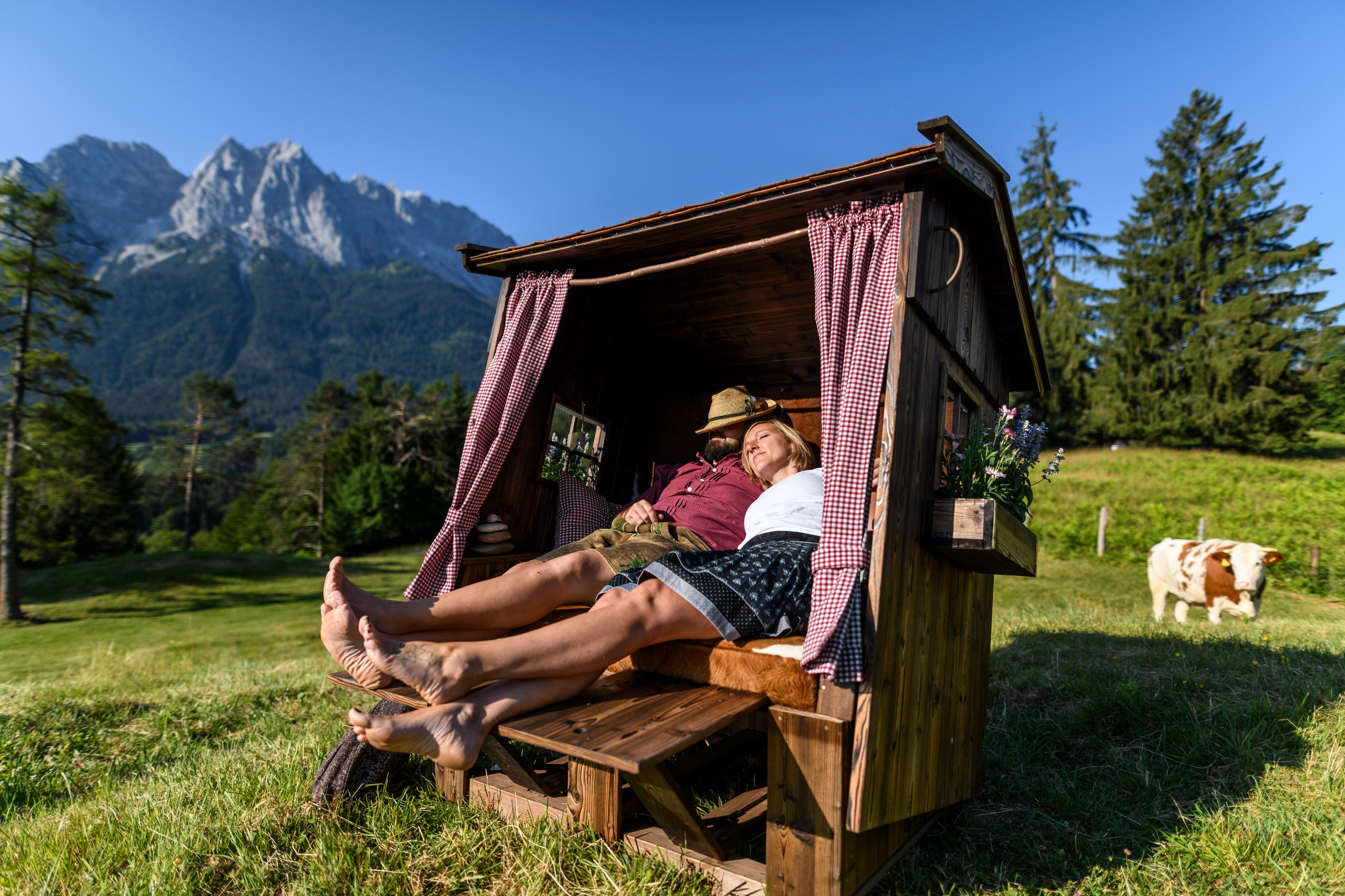 Alpenstrandkorb – Das Original